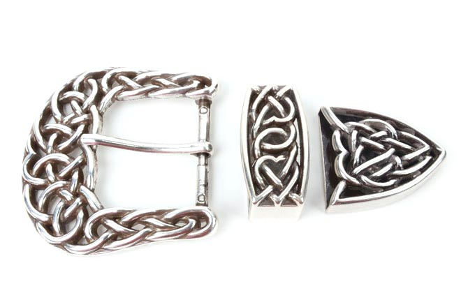 Celtic Buckle Set가죽공예용 버클 장식Tandy Leather Factory