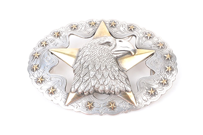Eagle Star Trophy Buckle set 가죽공예용 버클 장식Tandy Leather Factory