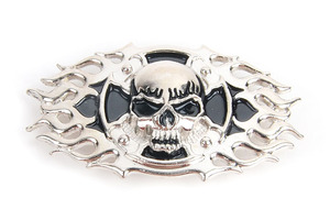 Skull Cross Frame concho(콘초)Tandy Leather Factory