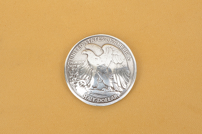 Eagle Half Dollar(콘초)Tandy Leather Factory