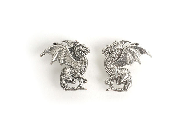 Twin Winged dragon concho쌍둥이 콘초Tandy Leather Factory